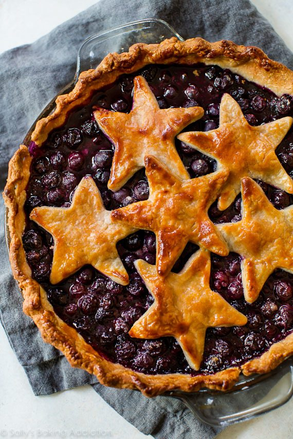 Simply the Best Blueberry Pie Sallys Baking Addiction