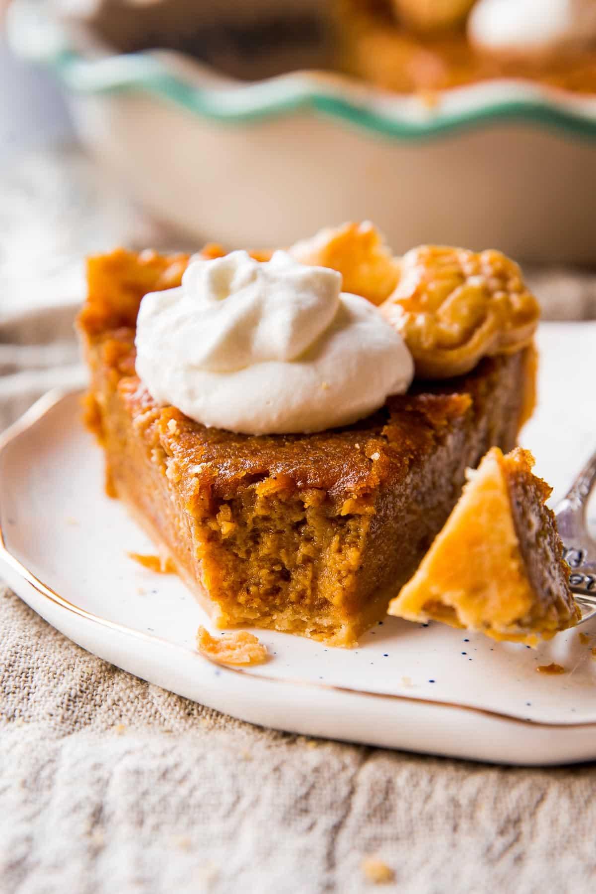 Brown Sugar Sweet Potato Pie  Sallys Baking Addiction