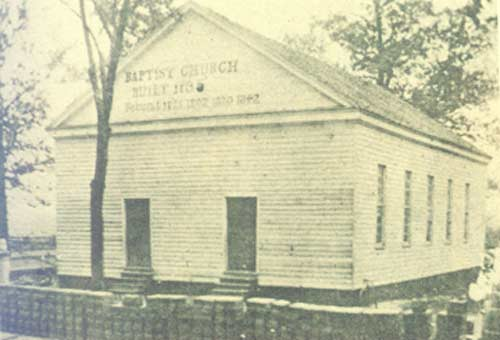 Vintage Photo of Parker's Meeting House