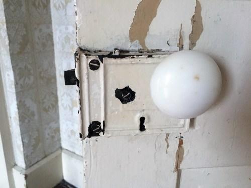 Door lock... in need of some stripper