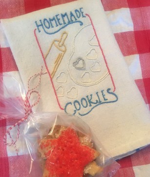 Hostess gift with baked goods