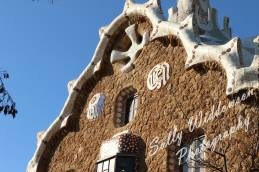 Gingerbread House Detail Parc Guell, Barcelon