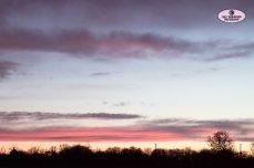pink purple sunset clouds beautiful pretty Sally Widdowson Photography