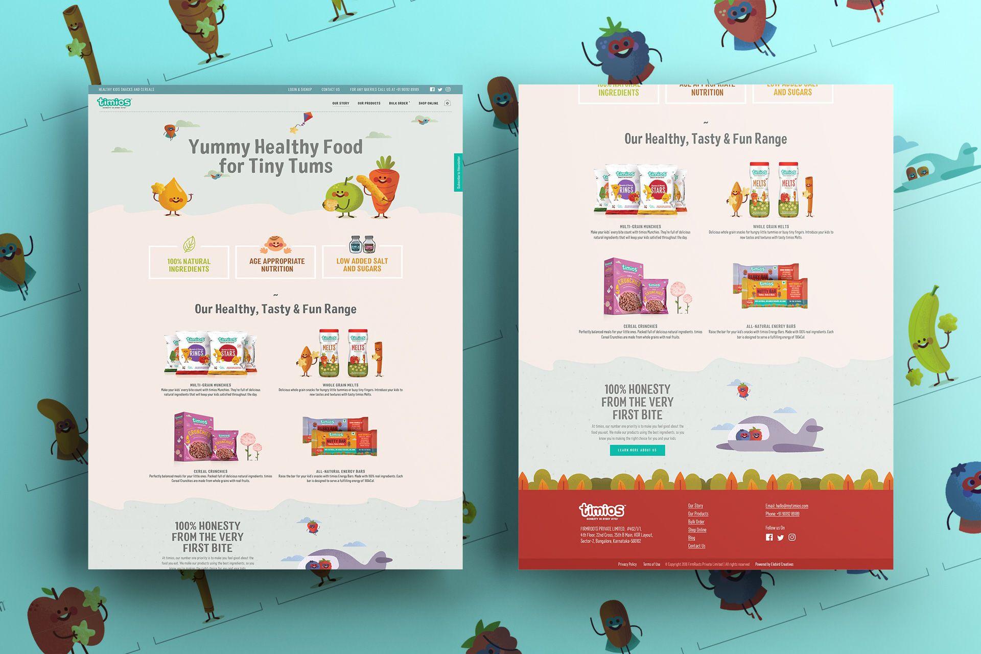 timios Website Screens Mockup – Salman-Ravoof – Homepage