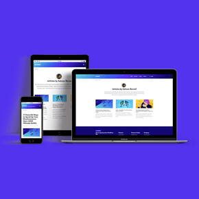 Thumbnail of Kinsta Web Responsive Showcase for Salman Ravoof