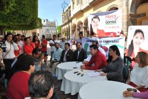 La campaña arrancó en el Jardín principal de esta ciudad.
