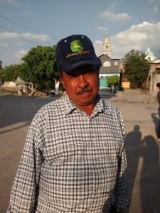 Sr. Martín Tavares Reyes, delegado de La Ordeña