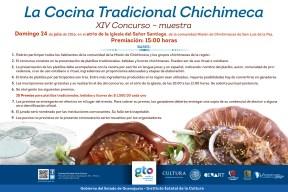 cartel COCINA CHICHIMECA