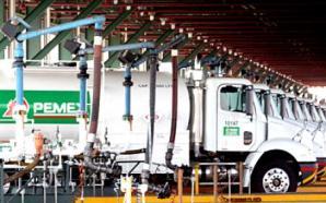 Exportaciones de Pemex tocan su mínimo desde 1990
