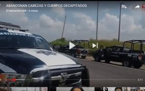 HALLAN CABEZAS Y CUERPOS DECAPITADOS