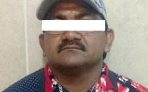 Detienen a sujeto que violaba a una menor en Juventino…