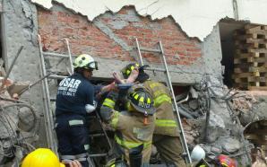 Grupo de Rescate USAR-Guanajuato logra rescate de una persona con…