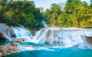 Recuperado al 100%, cauce de Cascadas de Agua Azul: Conagua