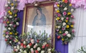 FERVOR Y TRADICIÓN PRESERVAN SALMANTINOS EN FESTIVIDAD A LA GUADALUPANA
