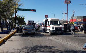 TRES PERSONAS LESIONADAS Y ELEVADOS DAÑOS MATERIALES SALDO DE ACCIDENTE…