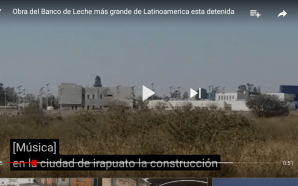 SUSPENDEN OBRAS DE BANCO DE LACTANCIA