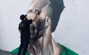 Con grafiti, León presenta a su nuevo refuerzo