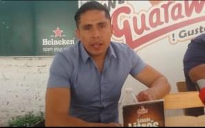 """JORGE MANRIQUEZ """"CON LA PIEL CHINITA"""" EN EL SECCION 24"""