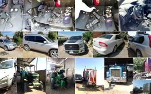 Aseguran en Juventino Rosas vehículos de motor robados, uno de…