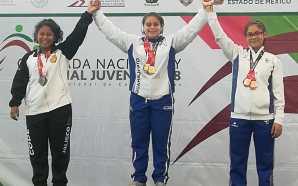 En la Olimpiada Nacional jornada histórica para levantamiento de pesas,…