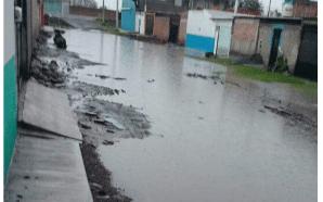 SIGUEN LAS INUNDACIONES EN CALLES DE SALAMANCA