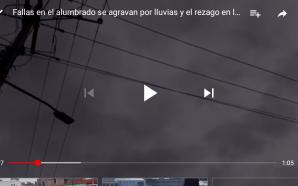 ALUMBRADO PÚBLICO DE SALAMANCA CON REZAGO EN ATENCIÓN