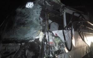 Choque entre camiones de personal deja 29 lesionados, en la…