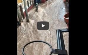 Se desborda Presa de La Olla en Guanajuato
