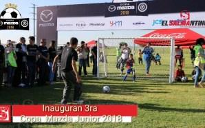 Inauguran 3ra. Copa Mazda Jr. 2018