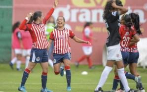 En Chivas el equipo femenil pone el ejemplo / venció…