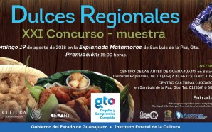 """El IEC y CEARG, invitan al """"XXI Concurso-muestra de Dulces…"""