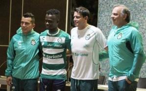 Santos presume nuevo cuerpo técnico y refuerzo