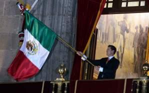 ¡Viva México! Peña Nieto dio su último Grito de Independencia