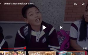 """CLAUSURA """"SEMANA NACIONAL POR LA PAZ"""" EN DELEGACIÓN DE EDUCACIÓN"""