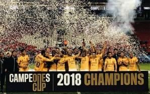 Tigres conquista la primera Campeones Cup