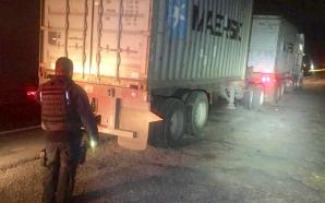 Aseguran camioneta con cubitanques utilizado para el trasiego de combustible…