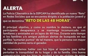 """Alerta en México por el macabro """"Reto de las 48…"""