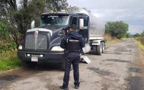 Policías federales detienen a conductor que transportaba 150 litros de…