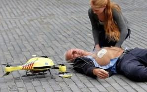 Drones, una tecnología que puede salvar vidas