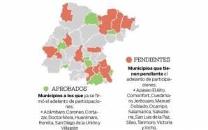 21 alcaldías de Guanajuato enfrentan problemas financieros
