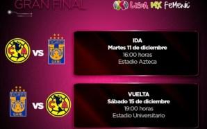 Definen días y horarios de final de Liga MX Femenil