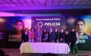 PRESENTAN NUEVA ACADEMIA DE POLICÍA EN SALAMANCA