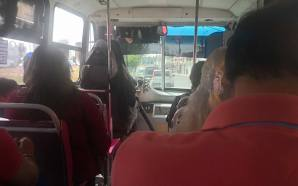 Consideran choferes que aumentó el uso del transporte público.