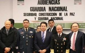 Concluyeron en San Lázaro audiencias públicas sobre Guardia Nacional