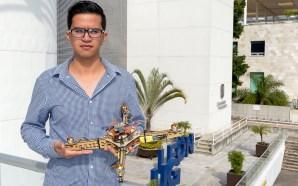 Estudiante de la UG desafía la gravedad con dron basado…