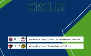 Las Águilas debutan en el Clausura 2019 con una victoria…