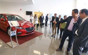 El Gobernador Diego Sinhue Rodríguez Vallejo, visitó la planta Mazda…