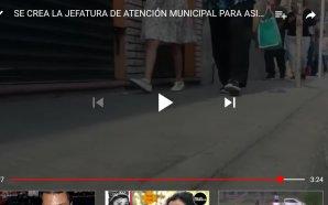 EN PLANEACIÓN LA JEFATURA DE ATENCIÓN MUNICIPAL