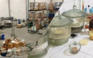 FGR asegura bodega de fentanilo en NL; hay un detenido