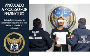 DETIENEN Y VINCULAN A HOMBRE ACUSADO DE FEMINICIDIO, MATÓ A…